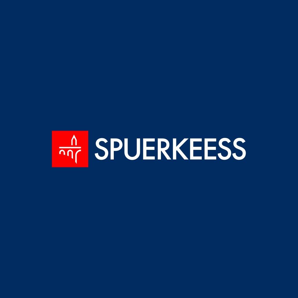 Spuerkees logotype - Adolph bridge and spuerkeeess building